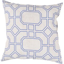 <strong>DwellStudio</strong> Trellis Marine Outdoor Pillow