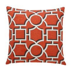 <strong>DwellStudio</strong> Vreeland Persimmon Pillow