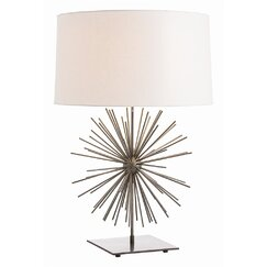 "<strong></strong> Burst 29"" H Table Lamp with Drum Shade"