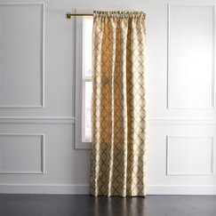 <strong>Casablanca Geo Curtain Panel</strong>