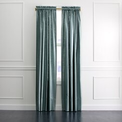 <strong></strong> Regency Linen Curtain Panel in Patina