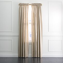 <strong></strong> Regency Linen Curtain Panel in Zinc