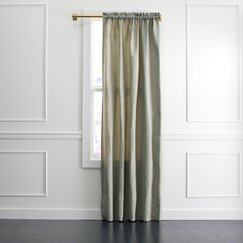 <strong>Tonal Tweed Curtain Panel</strong>