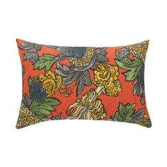 <strong></strong> Ming Dragon Persimmon Pillow