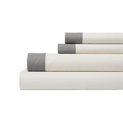 <strong>DwellStudio</strong> Modern Border Smoke Sheet Set