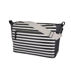 <strong></strong> Mini Stripe Sullivan Diaper Messenger