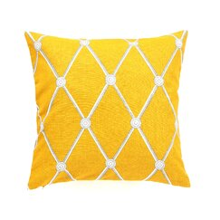 <strong>DwellStudio</strong> Hadley Mustard Pillow Cover