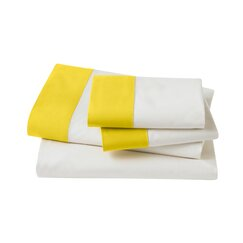 <strong>DwellStudio</strong> Modern Border Citrine Sheet Set