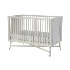 <strong>Mid-Century French White Crib</strong>