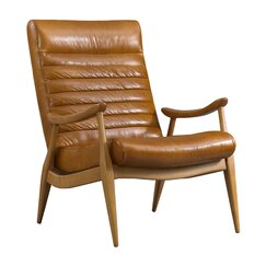 <strong>DwellStudio</strong> Hans Leather Chair