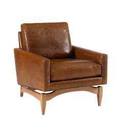 <strong>DwellStudio</strong> Irving Leather Chair