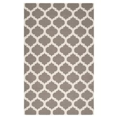 <strong>Modern Trellis Taupe Rug</strong>