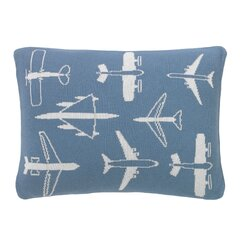 Flight Knitted Boudoir Pillow