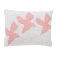 <strong>Birds Knitted Boudoir Pillow</strong>