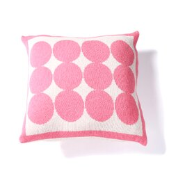 <strong>Graphic Dot Orchid Pillow</strong>