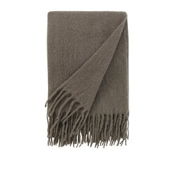 <strong>Mohair Solid Ash Throw</strong>