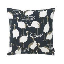 <strong>Winter Crane Pillow</strong>