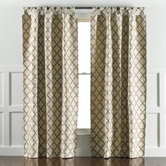 Casablanca Toffee Curtain Panels