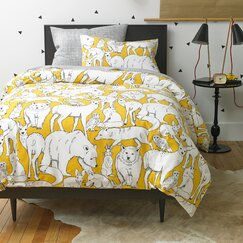 Wildwood Citrine Duvet Set