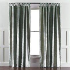 Etched Velvet Mist Curtain Panels