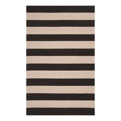 <strong>DwellStudio</strong> Draper Stripe Ink Outdoor Rug