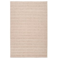 <strong></strong> Textured Stripe Antique White Rug
