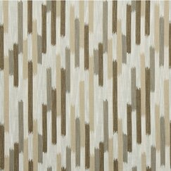 <strong></strong> Ikat Blocks Fabric - Toffee