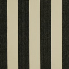 Oversize Stripe Fabric - Jet