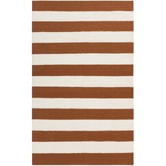 <strong>Draper Stripe Sepia Rug</strong>