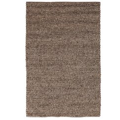 <strong>Braided Wool Espresso Rug</strong>