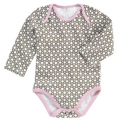 <strong>DwellStudio</strong> Starburst Long Sleeve Bodysuit
