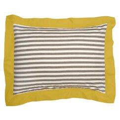 <strong>DwellStudio</strong> Draper Stripe Ash Sham (Set of 2)