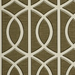 <strong>DwellStudio</strong> Gate Fabric - Brindle