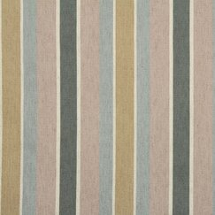 <strong>DwellStudio</strong> Shifted Stripe Fabric - Blush