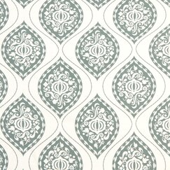 <strong></strong> Ogee Fabric - Aquamarine