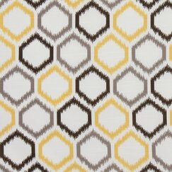 <strong>Ikat Trellis Fabric - Citrine</strong>