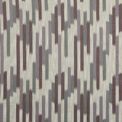 <strong></strong> Ikat Blocks Fabric - Amethyst