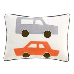 <strong>DwellStudio</strong> Cars Skyline Boudoir Pillow