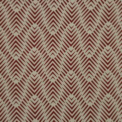 <strong></strong> Zebra Geo Fabric - Currant