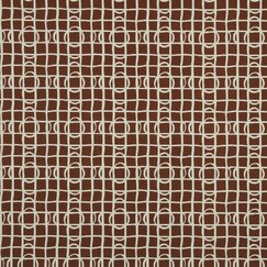 <strong>DwellStudio</strong> Lattice Graph Fabric - Copper