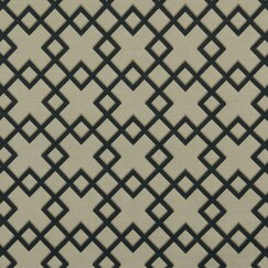 <strong>DwellStudio</strong> Cross Lane Fabric - Navy