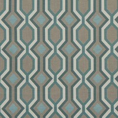 <strong></strong> Diamond Vista Fabric - Turquoise