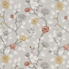 <strong>Leda Peony Fabric - Dove</strong>
