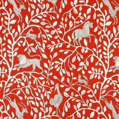 <strong></strong> Pantheon Fabric - Persimmon