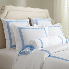 Celina Bedding Collection, Sky & White