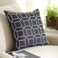 Beverly Pillow Cover, Pewter