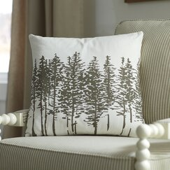 Darcy Pillow Cover, Pewter