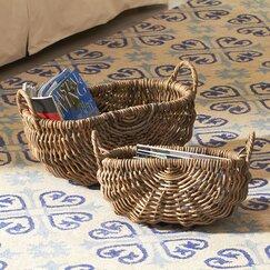 Rattan Basket (Set of 2)