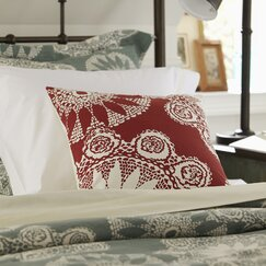 Isla Pillow Cover, Red