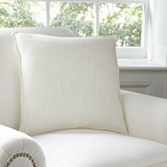 Milly Cotton Pillow Cover, Parchment